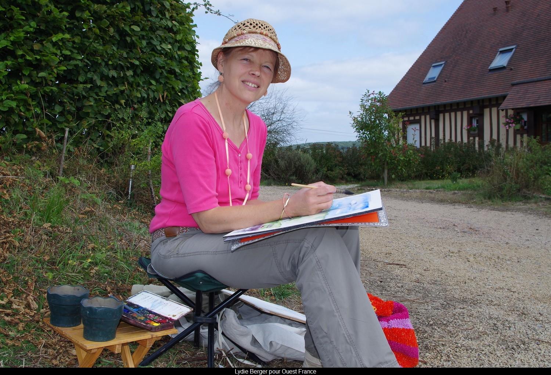 Isabelle Mallet pour Ouest France